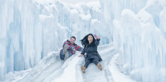 Midway's Ice Castle