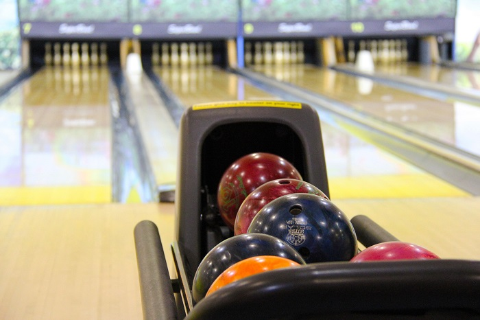 Free family fun at a bowling alley
