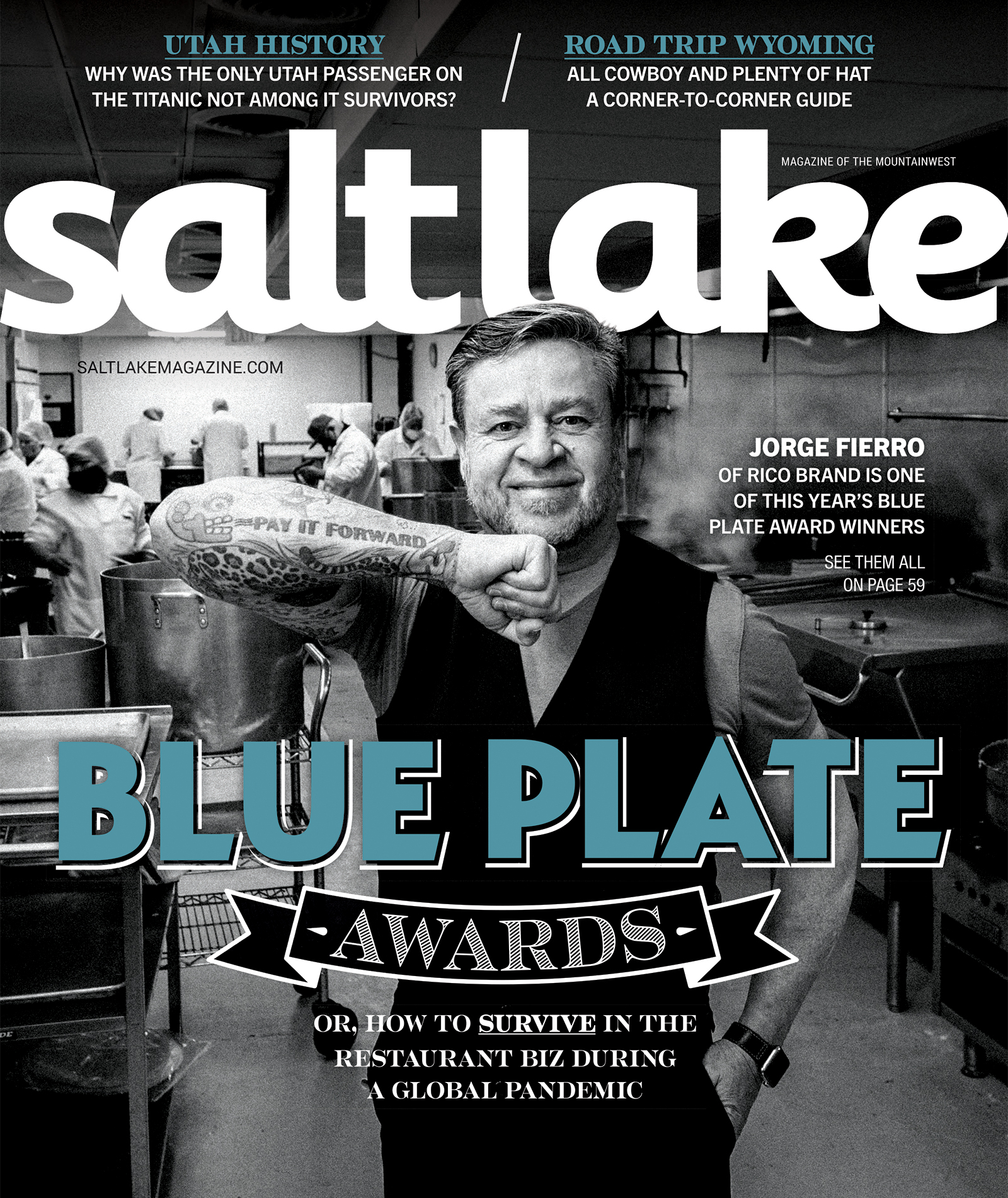 Salt Lake Magazine Cover