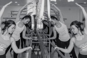 Barre class at Align Fitness Studio