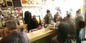 A busy winter Sunday at Blue Plate Diner in Salt Lake City