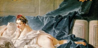 The Brunette Odalisque by François Boucher