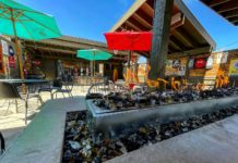 Bar and Restaurant Patios: Handle Bar